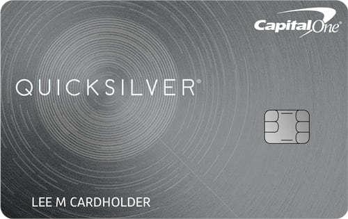 capital one quicksilver card