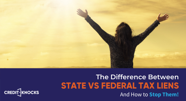 State vs Federal Tax lien difference