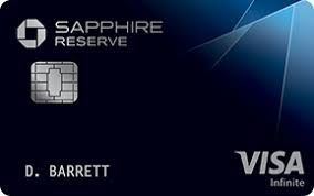 chase sapphire reserve card